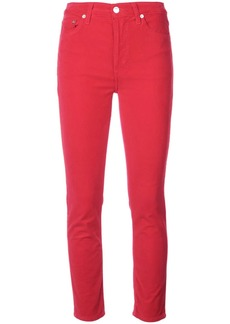 Re/Done cropped skinny jeans