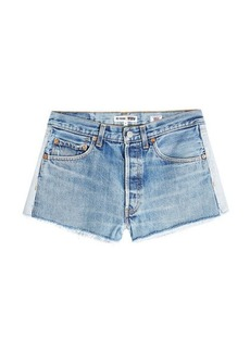 Re/Done Cut-Off Denim Shorts