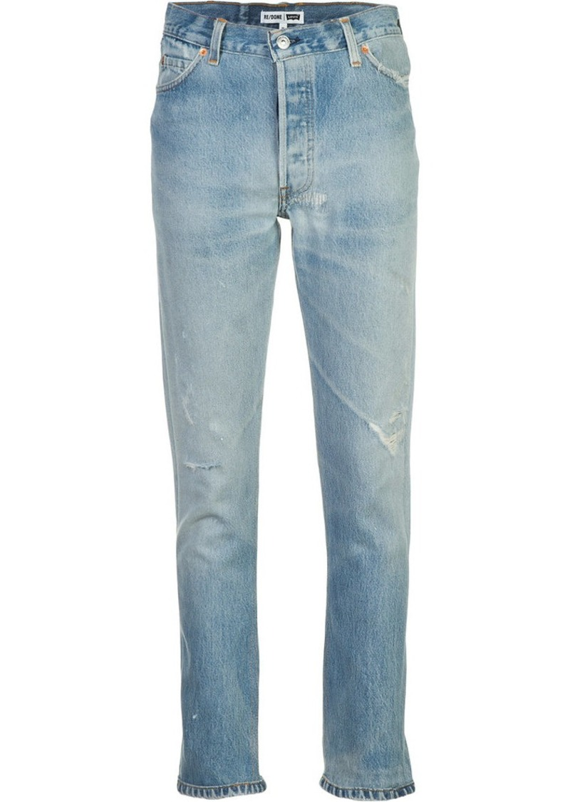 Re/Done denim high-rise jeans