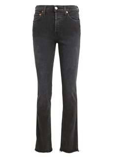 Re/Done Double Needle Skinny Jeans