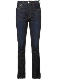 fdfb6a028ab70c Re/Done RE/DONE Women's Stretch Kick Flare Mid-Rise Jeans | Denim
