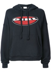 Re/Done Girl oversize hoodie