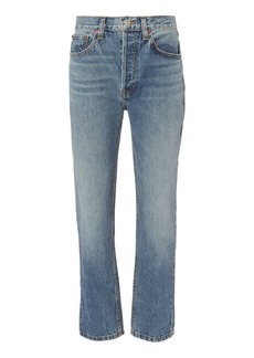 Re/Done High-Rise Relaxed Jeans
