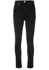Re/Done high-rise skinny jeans