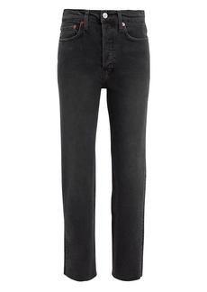 Re/Done Stovepipe Jeans
