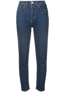 Re/Done high slim cropped jeans