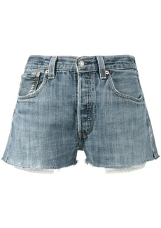 Re/Done Levi's denim short shorts