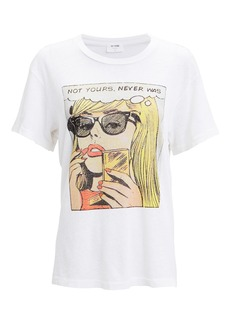 Re/Done Not Yours Graphic T-Shirt
