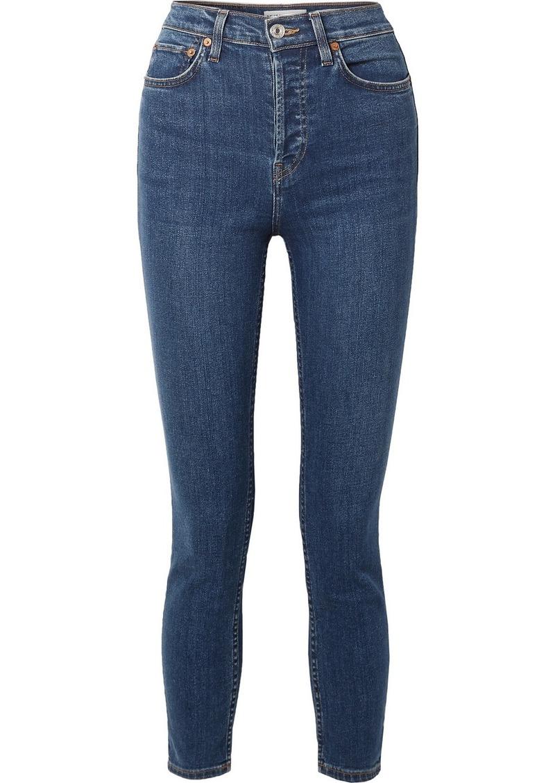 Re/Done Ultra Stretch Medium 53 Skinny Jeans