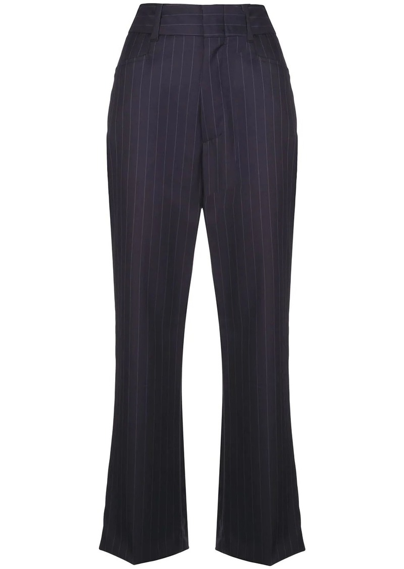 Re/Done pinstriped trousers
