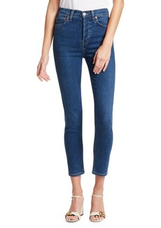 Re/Done Power Stretch High-Rise Jeans