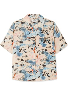 Re/Done Printed Voile Shirt