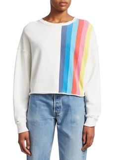 Re/Done Raw Crewneck Sweatshirt