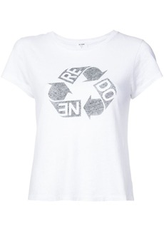 Re/Done Recycle graphic Tee