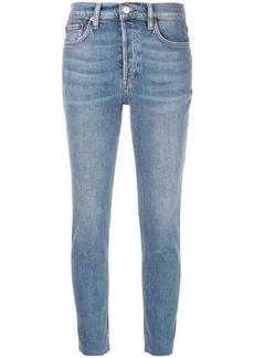 RE/DONE + Levi's high rise ankle crop jeans