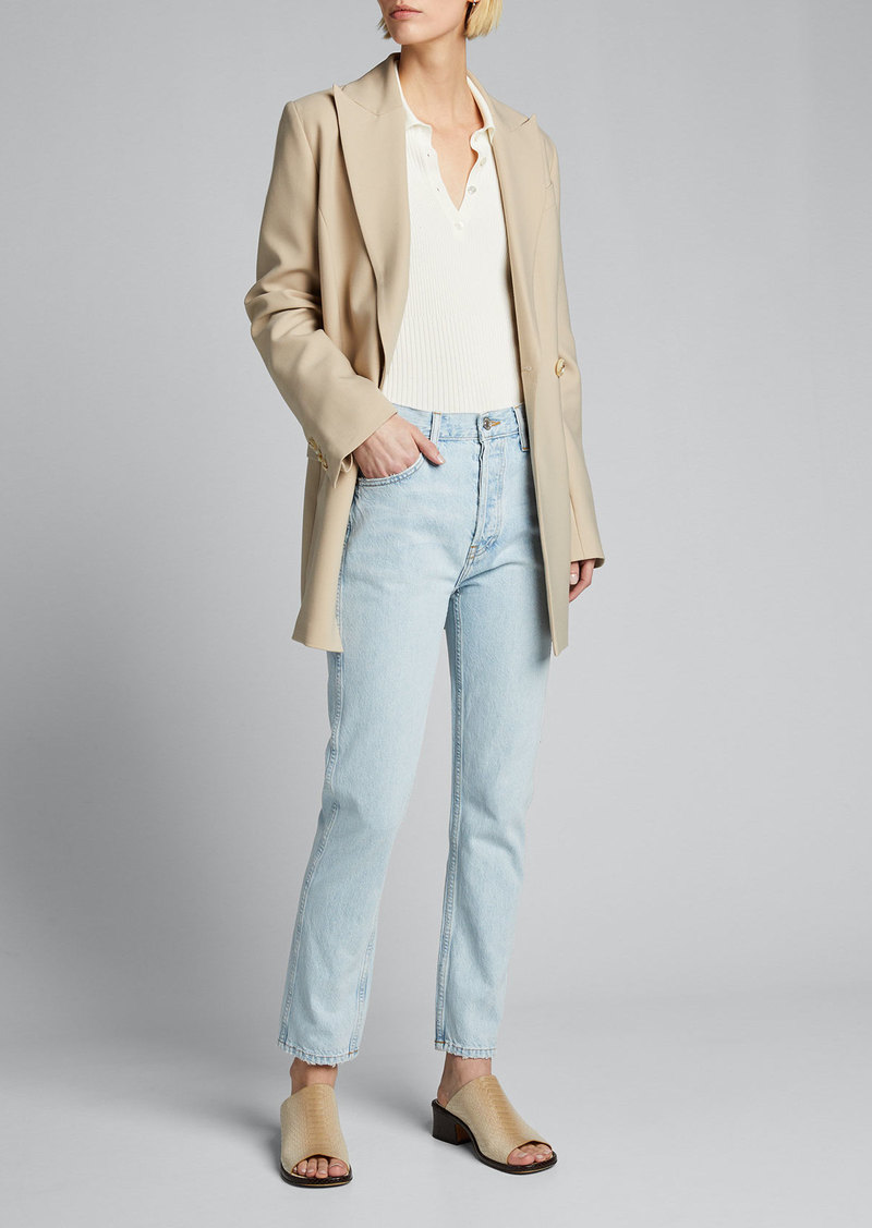 RE/DONE 50s Cigarette Ankle Pants
