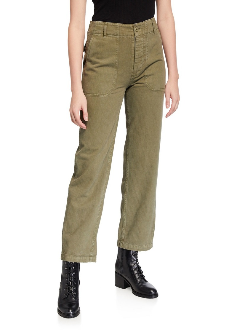 RE/DONE 50s Military Trousers