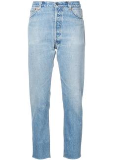 Re/Done boyfriend jeans - Blue