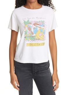 Re/Done Classic Save the Rainforest Graphic Tee