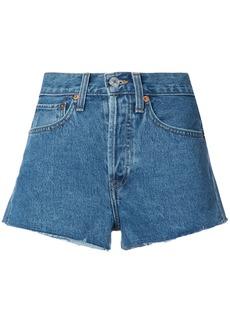 Re/Done denim shorts - Blue