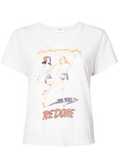 Re/Done Devil Girls graphic Tee