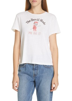 Re/Done Devil Made Me Do It Tee