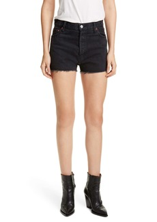 Re/Done High Waist Cutoff Denim Shorts