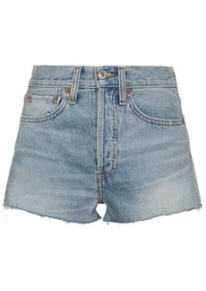 Re/Done high waisted shorts - Blue