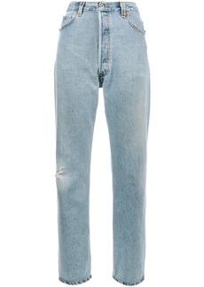Re/Done Levi's Ultra high rise boyfriend jeans - Blue