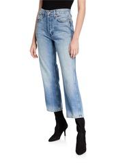 RE/DONE Low Slung Crop Jeans