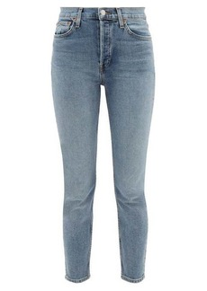 Re/Done Originals Comfort Stretch Ankle Crop high-rise jeans