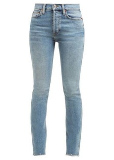 Re/Done Originals Double Needle skinny-leg jeans