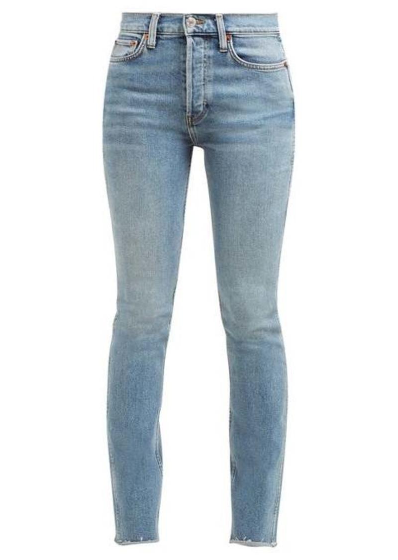 Re/Done Originals Double Needle skinny-leg jeans