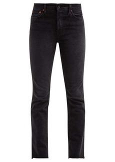 Re/Done Originals Double Needle slim-leg jeans