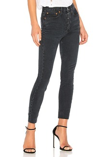 11f0026b449dd RE DONE Originals High Rise Ankle Crop with Stretch