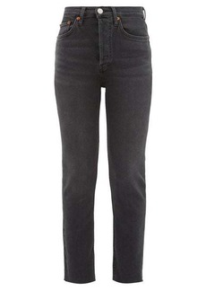 Re/Done Originals High Rise Ankle Crop jeans
