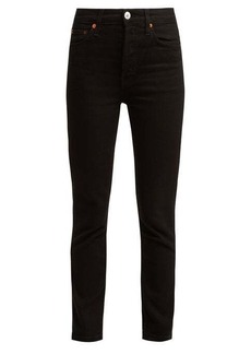 Re/Done Originals High-rise slim-leg jeans