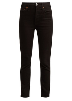 Re/Done Originals High-rise slim-leg jeans