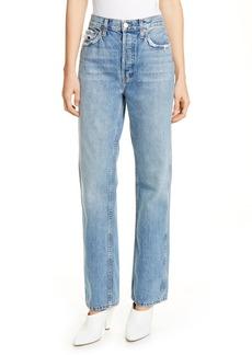 Re/Done Originals High Waist Loose Jeans