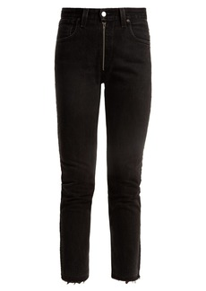 Re/Done Originals X Levi's slim-leg cropped jeans