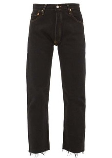 Re/Done Originals High Rise Stove Pipe jeans
