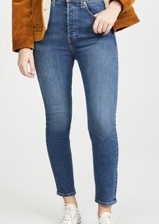 RE/DONE Ultra High Rise Crop Jeans