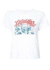 Re/Done Women of the World graphic Tee - White