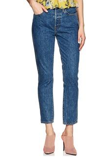 RE/DONE Women's Double Needle Crop Jeans