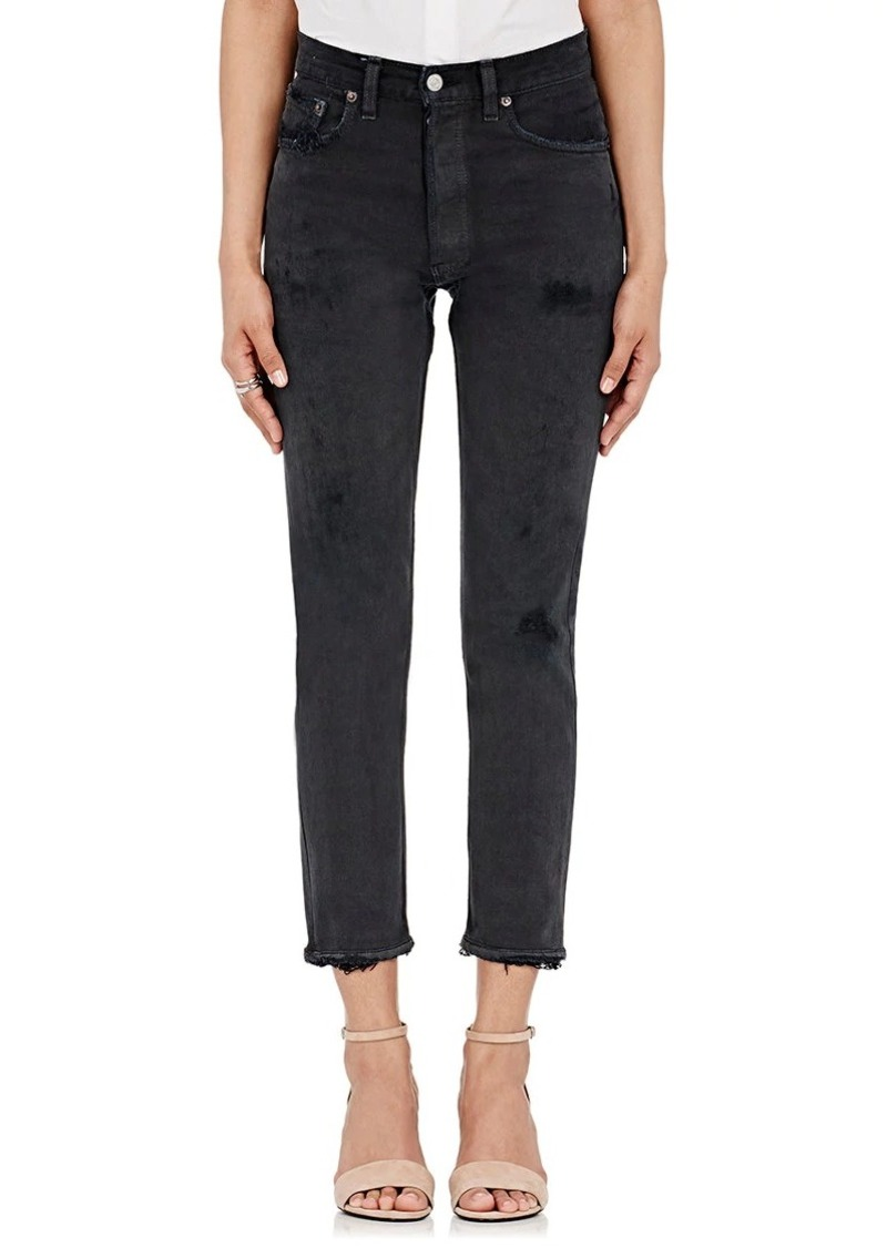 RE/DONE Women's High Rise Crop Levi's® Jeans