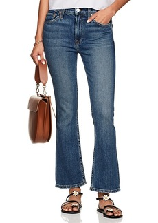 RE/DONE Women's Stretch Kick Flare Mid-Rise Jeans