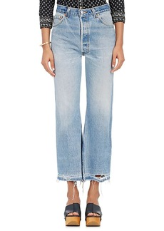 RE/DONE Women's Leandra Crop Flared Levi's® Jeans