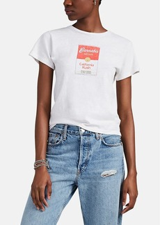 """RE/DONE Women's The Classic """"Canned """" Cotton T-Shirt"""