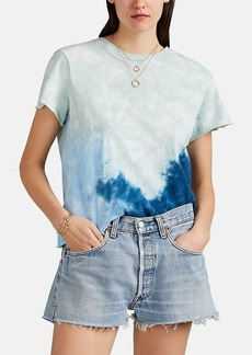 RE/DONE Women's The Classic Tie-Dyed Cotton T