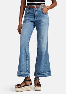 RE/DONE Women's The Ultra Bell Bottom Jeans